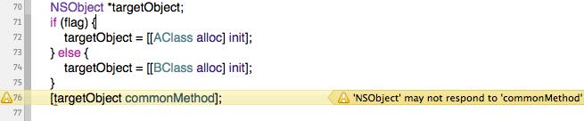 Xcodeの警告