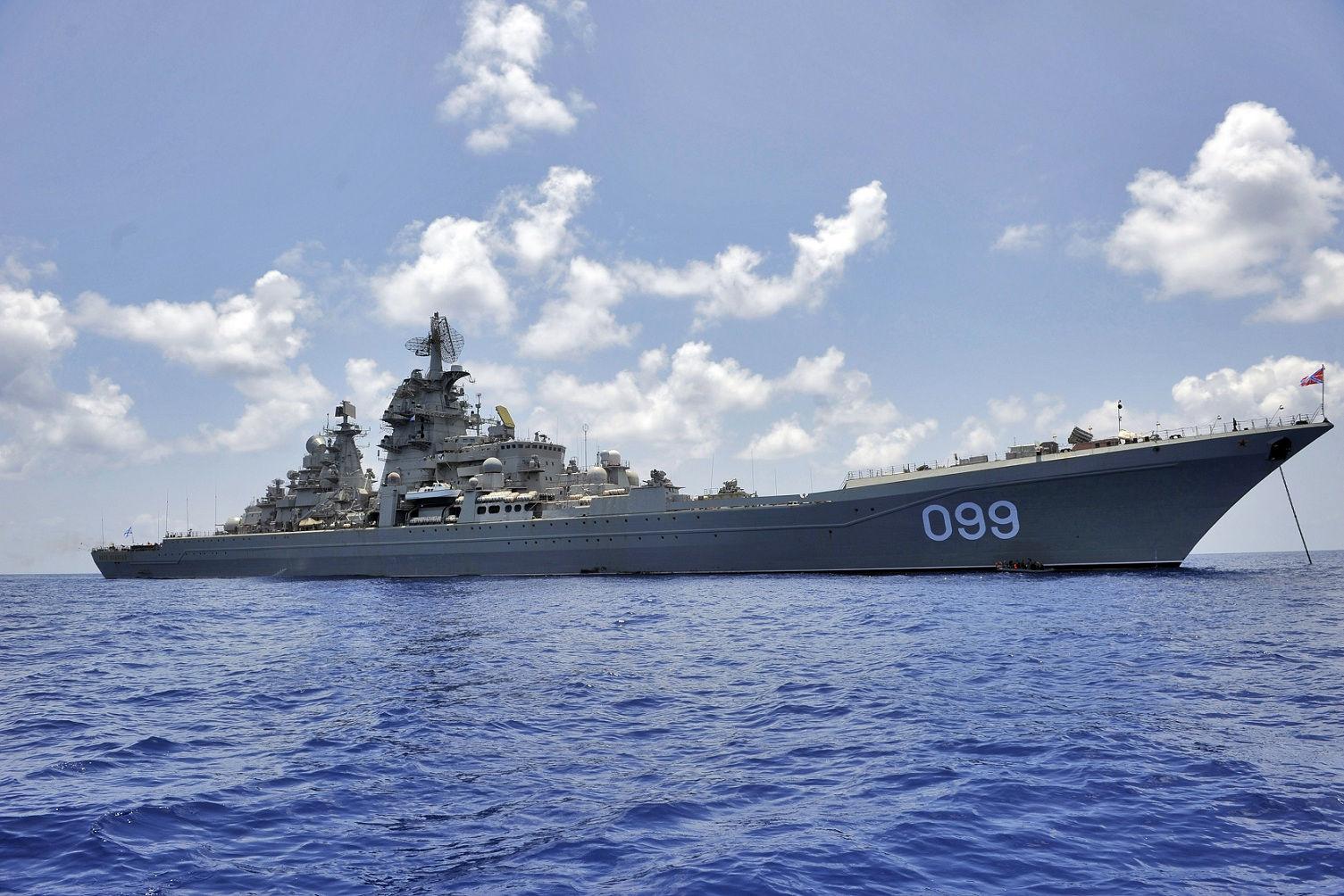 重原子力ロケット巡洋艦ピョートル・ヴェリキーは15歳になった - N.G. ...