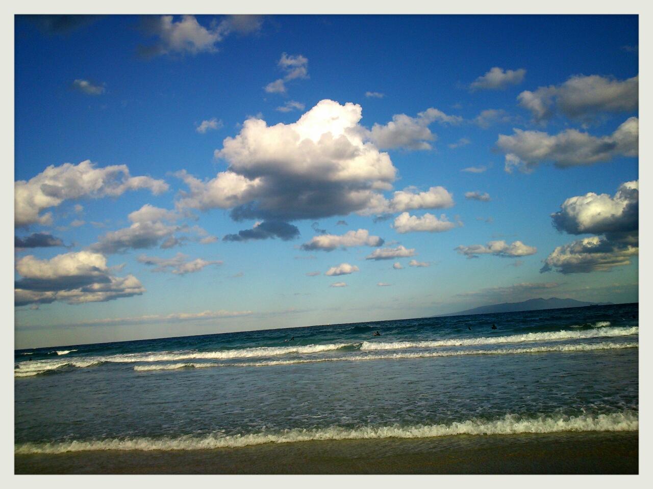 旅先から 〜久々の海〜 (写真のみ)