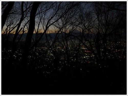 里山から初日の出 (動画あり)