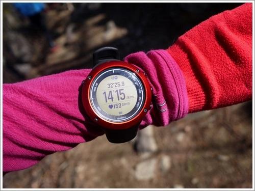 里山トレーニング3 登りbpm