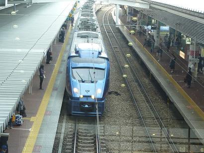 2011年4月9日 大急ぎで博多駅