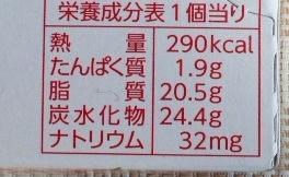 板チョコいちごカロリー