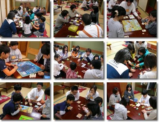 4/25 親子ゲーム会 風景