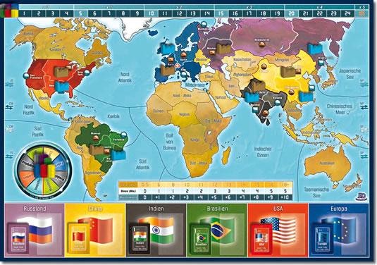インペリアル2030:ゲームボード