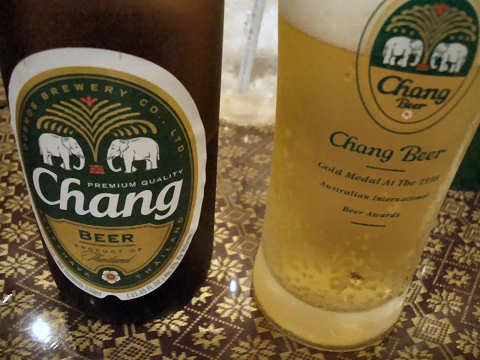 チャーンビール@TAWAN THAI