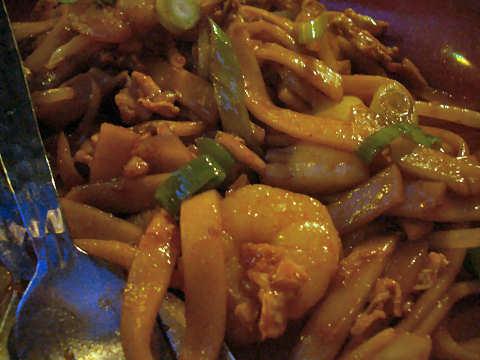 マレーシア太麺@マレーシアボレ