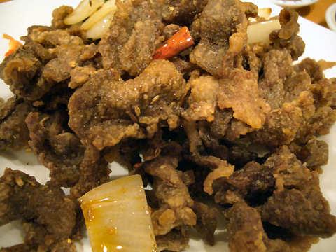 稲香羊肉@四川麻辣牛肉麺