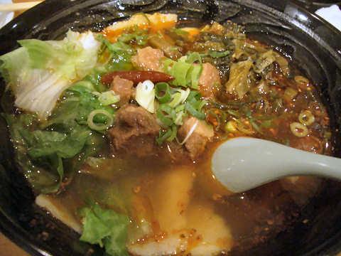 牛肉麺@四川麻辣牛肉麺