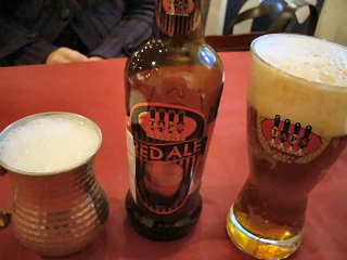 アイラン+タップスビール@イスタンブール・コナック