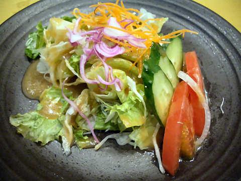 新鮮野菜サラダ@中納言