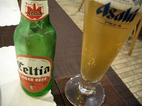 チュニジア・ビール「セルティア」@ラ・グレット