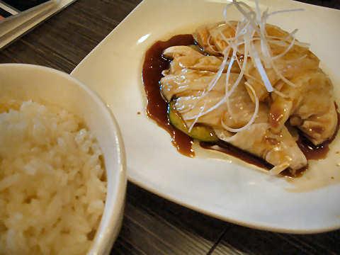 海南鶏飯(ハイナン・チキンライス)@宏亜楼