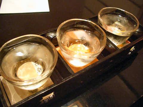 京乃地酒飲みくらべセット@京とあん