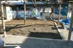 砂場殺菌、消毒
