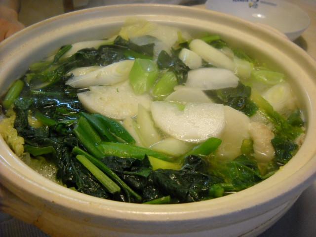 とり野菜なべ