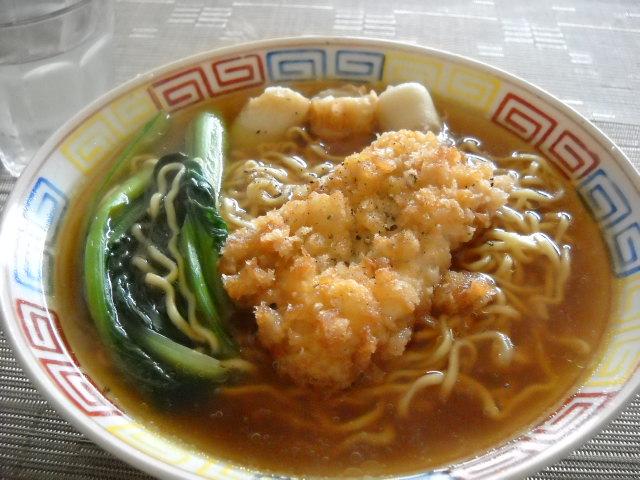 マルちゃん正麺チキンカツ