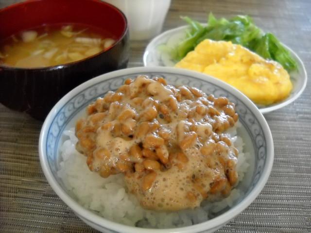 納豆のご飯