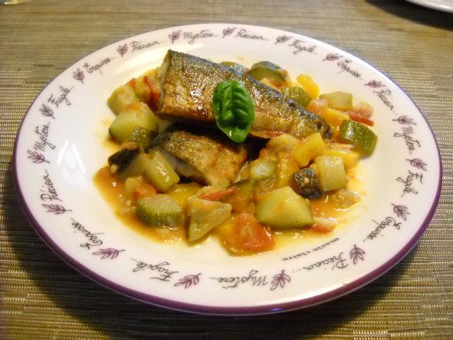 秋刀魚ラタトゥユ