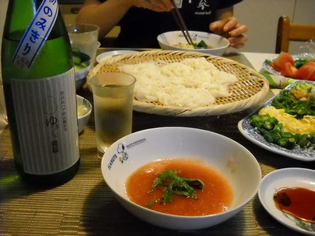 トマト素麺