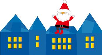 季語のサンタクロースやクリスマスの句も