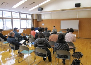 岡島先生の熱心な指導により声も大きく・・・