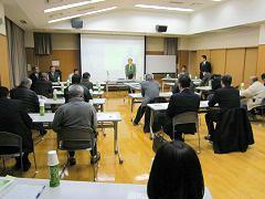 上坂会長の開会の挨拶