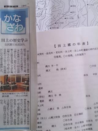 ふるさと歴史物語 田上郷の歴史