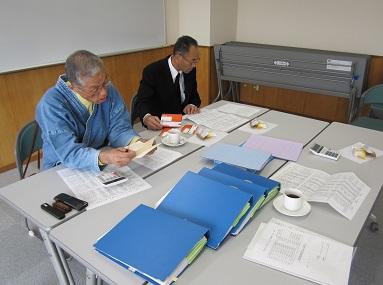 両監査委員から真摯な監査を頂きました。