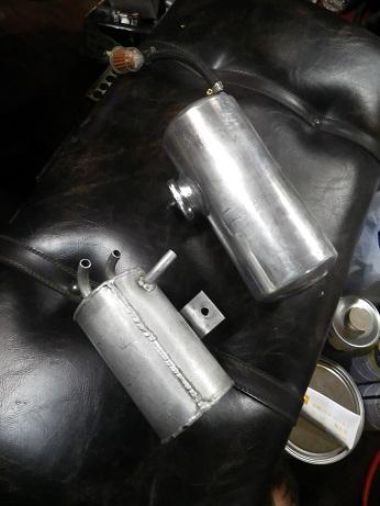 オイルキャッチタンク・ラジエターリザーブ決定