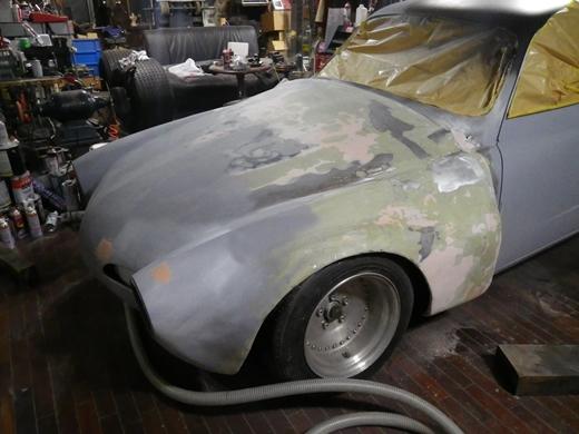 サフェーサー塗装 (1)