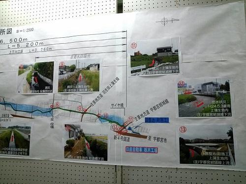 栃木県議会<県土整備委員会>現地調査!上三川町⑤