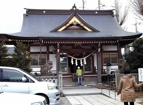 今泉 八坂神社へ!③