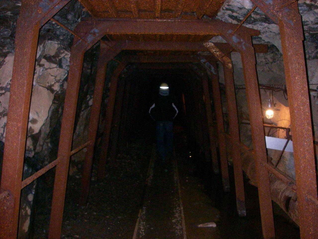 太郎の部屋 「明延鉱山」 その1 当時のままの坑道