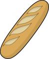 ブログ素材(フランスパン)