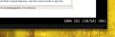 zathura Ubuntu PDFビューア 軽い PDFのステータス