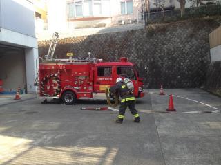百合ヶ丘消防署②