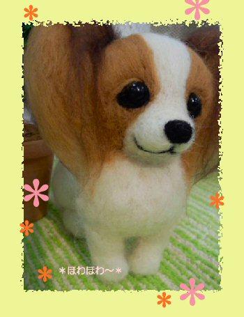 パピヨンちゃん御人形3